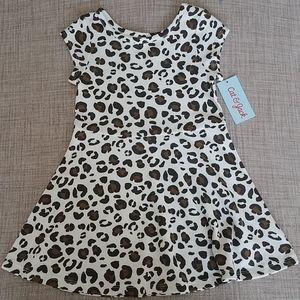 NWT Cat & Jack Animal Print Dress